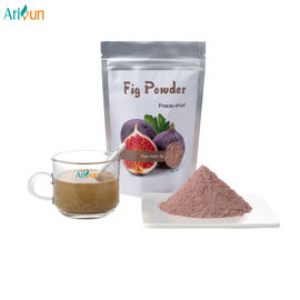 China Pure Taste Freeze Dried Fruit Powder , Dehydrated Fig Fruit Powder Peromoting Appetite supplier