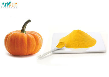 China High Nutritional Value Dried Pumpkin Powder Light Yellow Powder Good Solubility supplier