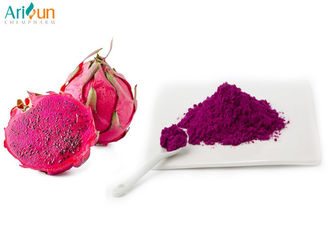 Superfine Freeze Dried Dragon Fruit Powder Purple Color Gluten Free Low Moisture Content