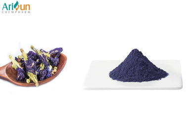Fine Blue Freeze Dried Butterfly Pea Powder High Purity For Food Additives