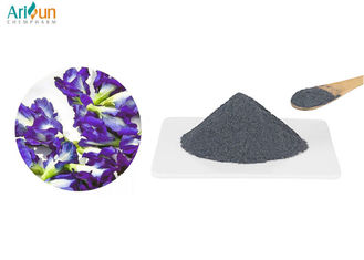 Beautiful Water Solution Blue Pea Flower Powder Non - Polluting Sulfur Free