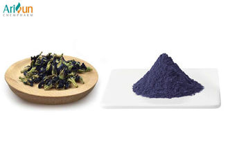 Heat Resistant Butterfly Pea Extract Blue Powder Rich In Anthocyanin 12 Months Shelf Life
