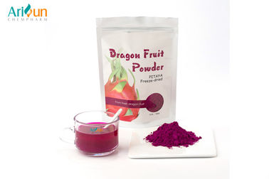 Freeze Dried Fruit Powder Natural Pitaya lyophilized powder Colorful Purple colors