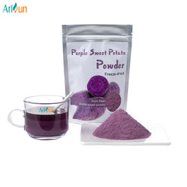 China Purple Organic Freeze Dried  Sweet Potato Powder Rich In Protein Cellulose Amino Acids distributor