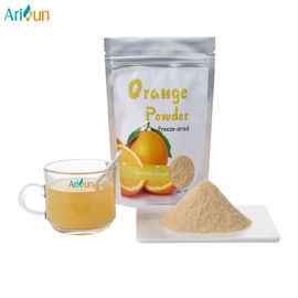 Yellow Freeze Orange Juice Powder Strengthen Intestinal Peristalsis Anti Oxidant